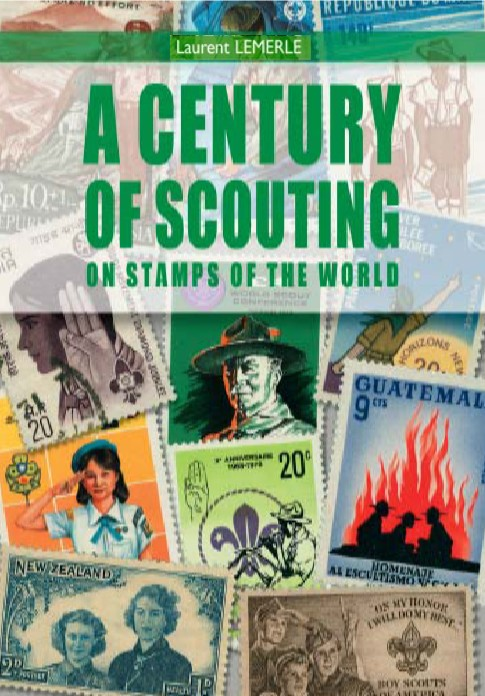 Livre timbres scouts